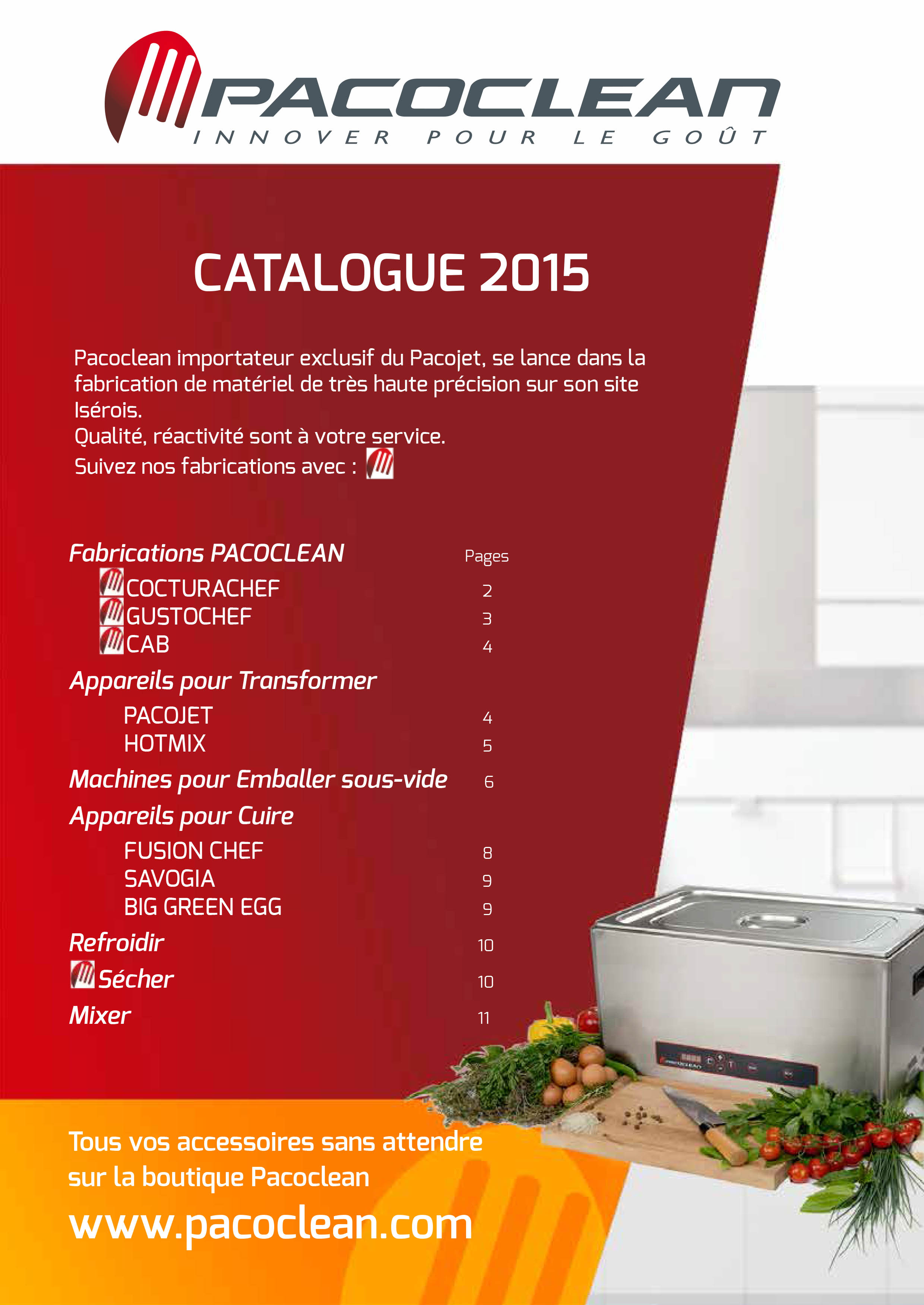 pacoclean catalogue mai 2015 couv